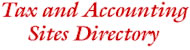 Tax and Acoounting Sites Directory